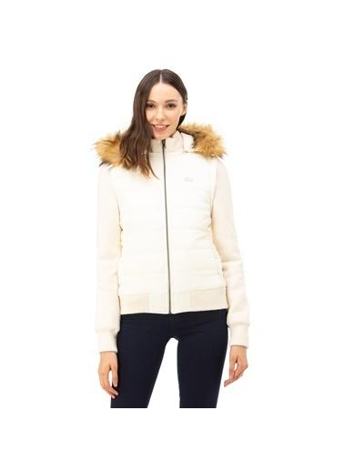 Lacoste Kadın  Mont BF1639.39Y Beyaz